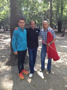 Maestro Alberto  Cossio avec le Matador Jorge Sotelo et Felipe Olivera Chapultepec 2013 11