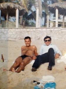 Rodolfo Rodriguez EL PANA et Alberto COSSIO il y a quelques décennies.