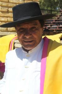Maestro Alberto Cossio  avant le Paseo Carmona 2013 04