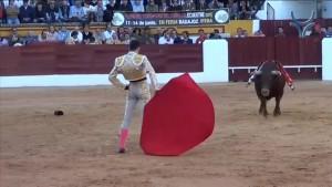 Alejandro Talavante - Olivenza le 7 Mars 2015 El verdadero Pase Cambiado por la Espalda