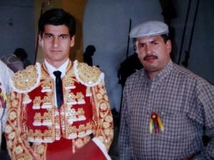 Morante y Felipe Olivera hace unos años.