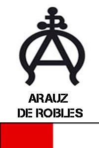 HIERRO Y DIVISA ARAUZ DE ROBLES